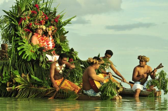 За романтическими ощущениями на Таити