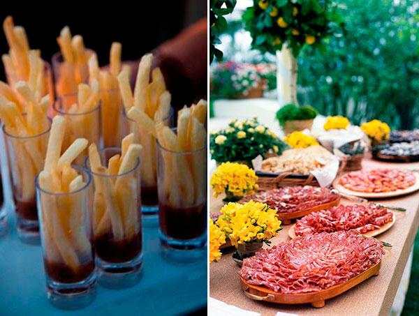 Блюда на свадебном столе - разнообразие и изумительный вкус