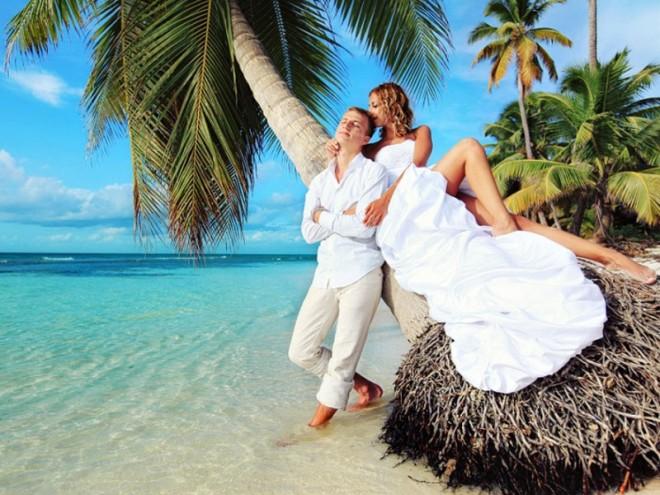 Свадьба на божественном острове
