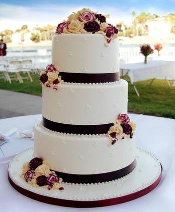Торт для свадебного торжества