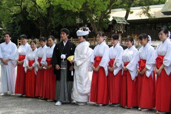 Свадебные традиции Японии