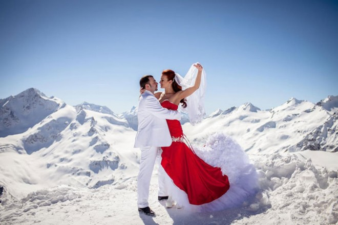 Зимний свадебный туризм по-царски