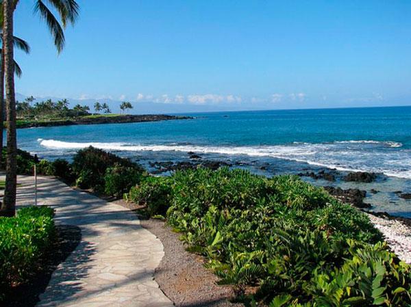 Пляж на Гаваях