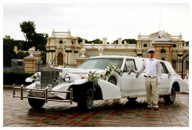 Лимузин - мечта невесты