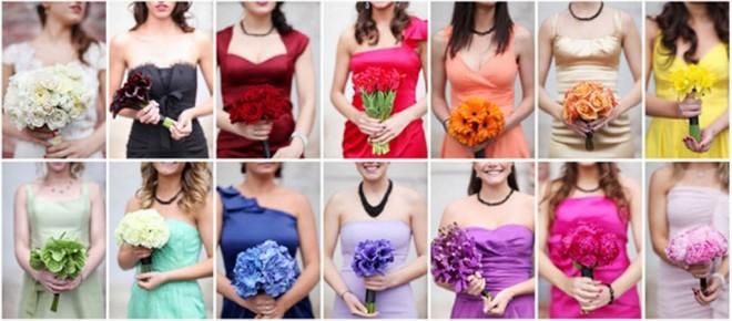 Выберите для девичника обязательно цветовую гамму