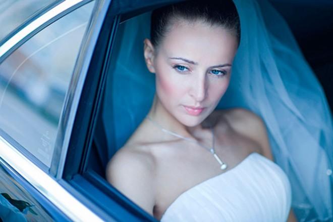 невеста-в-машине
