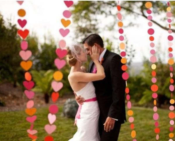 Свадебное торжество в стиле первой встречи