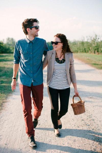 Романтическая прогулка на двоих