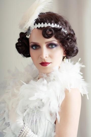 Нежный образ невесте в ретро стиле