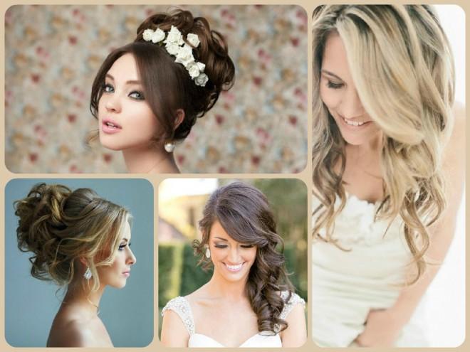 Заложенные или распущенные волосы, какую прическу выбрать для свадьбы?