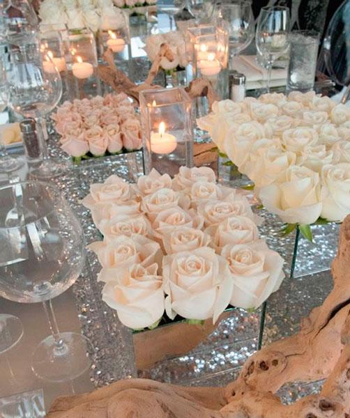 Белые розы - изысканная классика