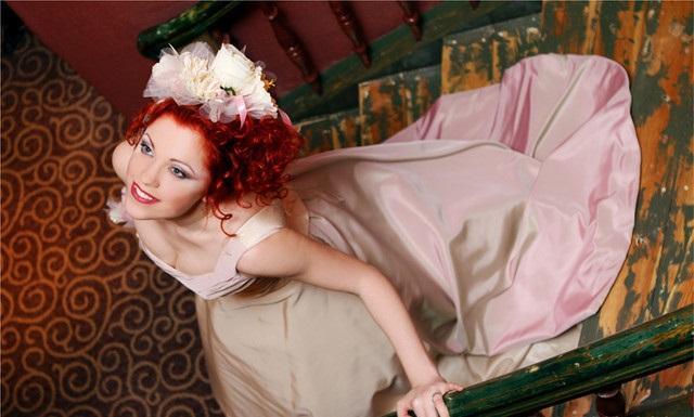 Янтарный шарм! Стильные свадебные платья для рыжих невест.
