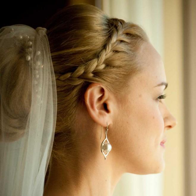 Свадебные прически для невесты на длинные волосы. Свадебный стиль невесты