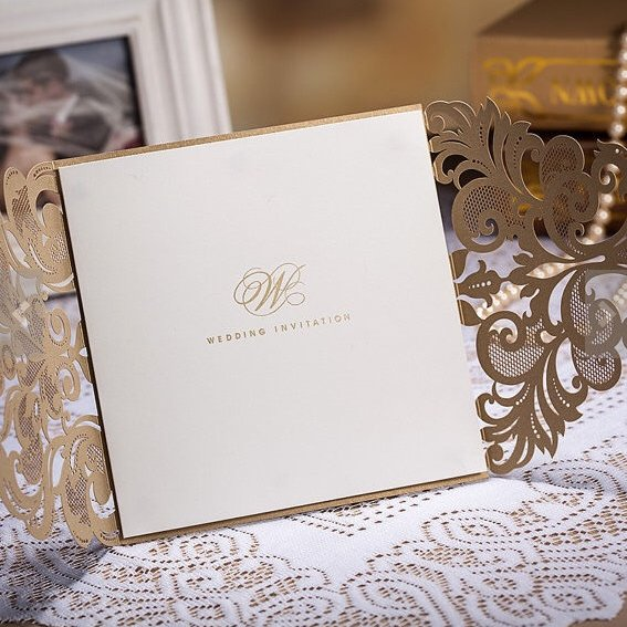 Оригинальное приглашения на свадьбу своими руками