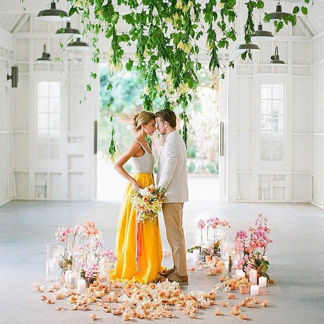 Модные тенденции в свадебной индустрии. Раздельный свадебный наряд для невесты