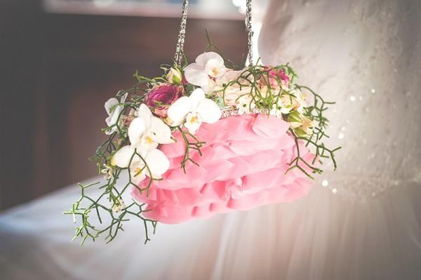 Свадебный букет в сумочке