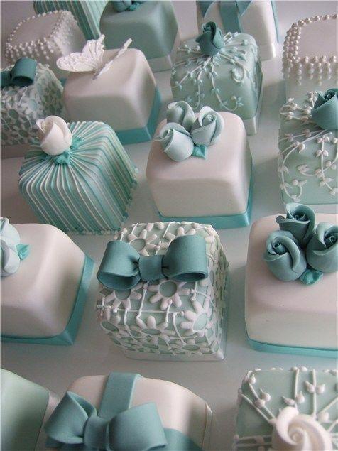 Свадебные мини-тортики