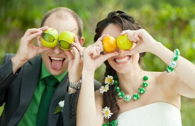 Идеи для свадьбы. Украшаем свадьбу весело