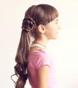 Прически для девочек. Как сделать хвост красивым и элегантным?