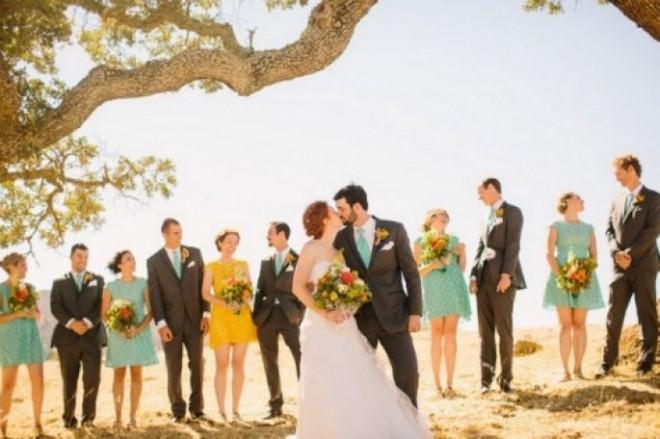 Лето - чудесное время для свадьбы