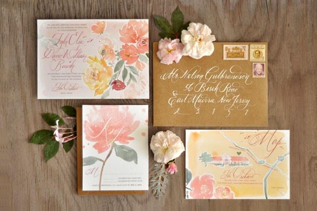 Оригинальные приглашения на свадьбы своими руками