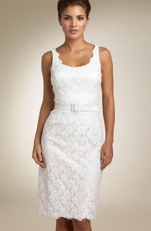 Короткое платье длина