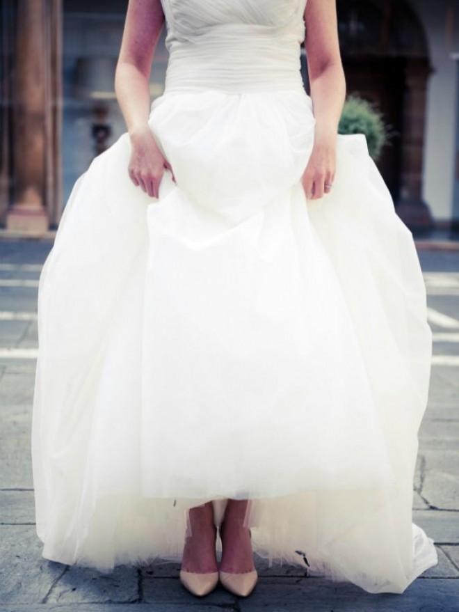 Обувь добавляет гармонию в образ невесты