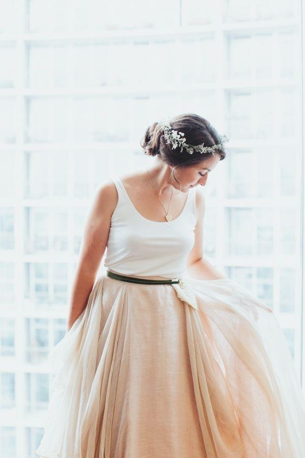 Тенденции моды. Необычные свадебные платья!