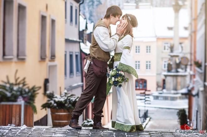 Романтическая свадьба в этническом стиле