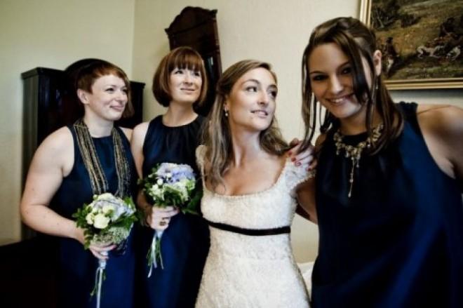Подружки - лучшие помощницы на свадьбе