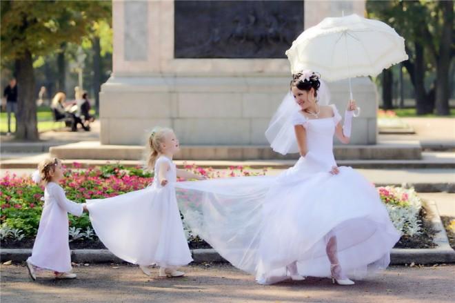 Юные подружки невесты