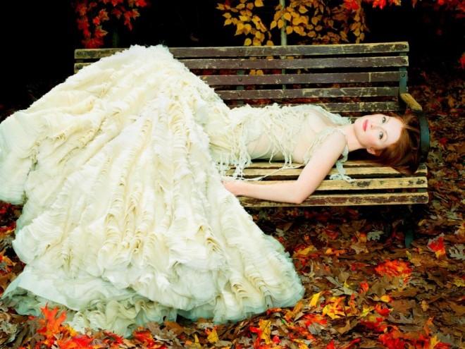 Свадьба осенью. Свадебные платья для осенней свадьбы