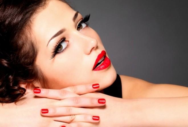 Свадебный макияж. Акцент на красный или 5 правил для идеального образа невесты!