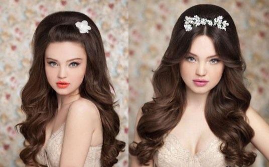 Причёски с обручем для волос с челкой фото