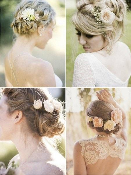 Как сделать причёску на свадьбу невесте