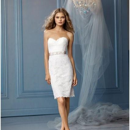 Короткие свадебные платья. Белое платье - длина или вызов традициям?