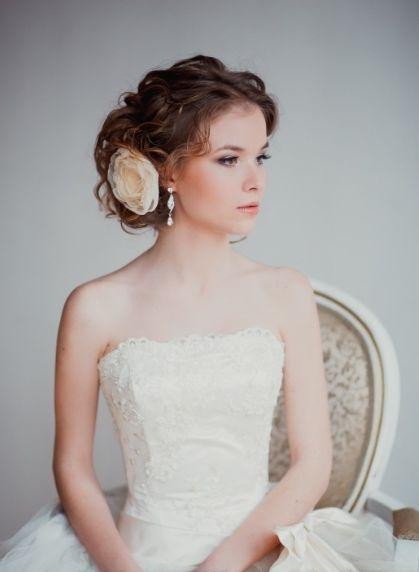Свадебные украшения для волос своими руками