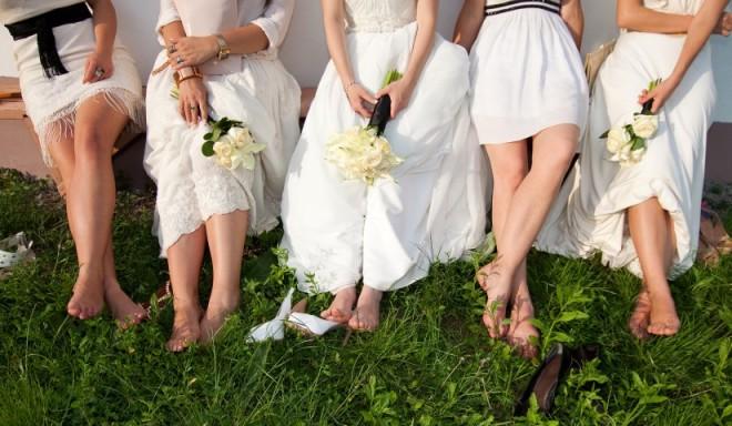 Свадебные туфельки для золушек