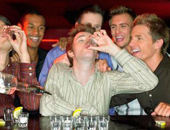 Не стоит излишне налегать на спиртное