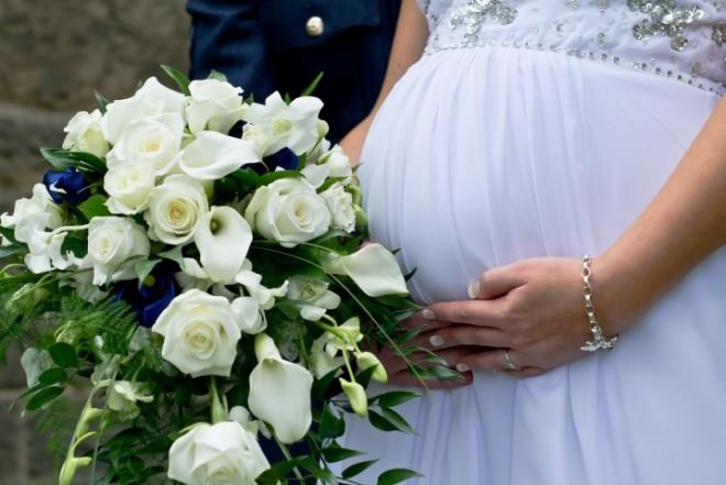 В день свадьбы вас уже трое