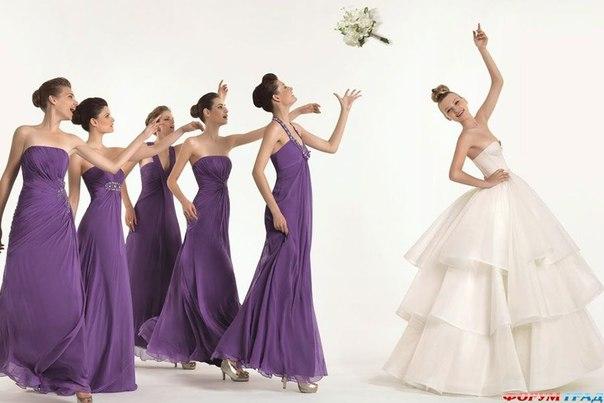 Подружки невесты - ее поддержка и помощь в любых ситуациях