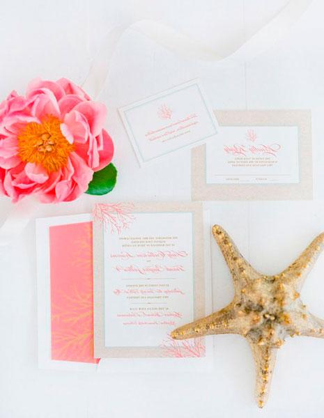 Приглашение на романтическую свадьбу