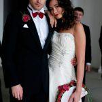 Элегантная свадьба с акцентом на красный