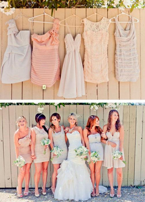 Выбор наряда на чужую свадьбу - также непростая задача