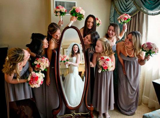Гости, в ожидании невесты