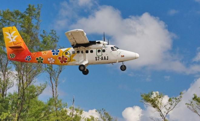 Попасть на райский остров можно только на самолете