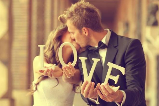 Романтика в свадебных фотографиях