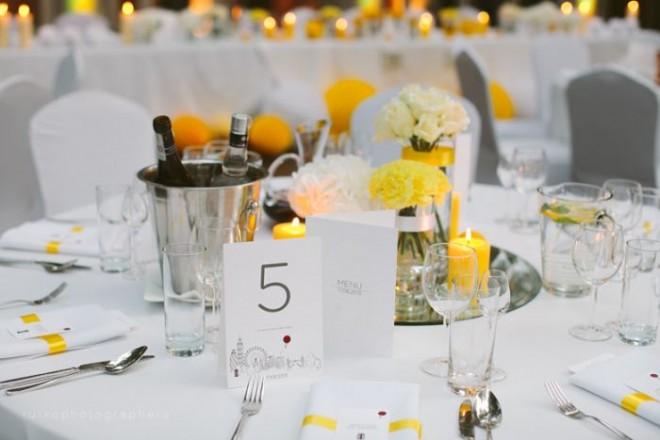Виньетка на свадебный стол