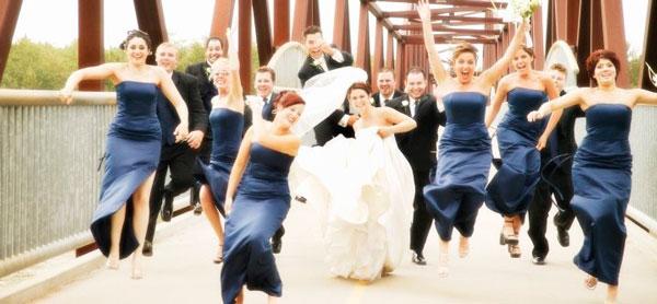 На веселой свадьбе могут случиться всякие неожиданности