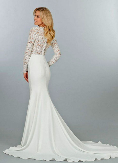 Элегантный свадебный наряд
